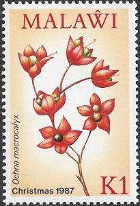 Malawi 1987 Scott # 509 Mint NH. Free Shipping on All Additional Items.