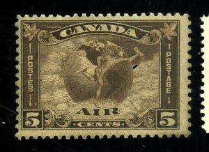 CANADA #C2 MINT FVF NG Cat $75