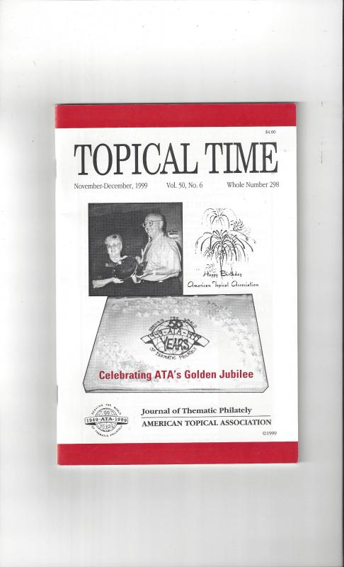 Topical Time Magazine NOV-DEC 1999  Number 298, ATA Journal