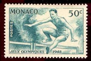 Monaco 1948: Sc. # 204; */MH Single Stamp