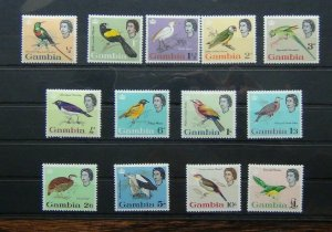Gambia 1963 set to £1 MNH SG193 - SG205