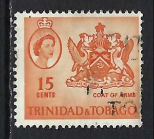 TRINIDAD & TOBAGO 116 VFU ARMS V245-5