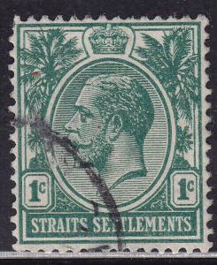 Straits Settlements 149 USED 1912 KGV 1¢