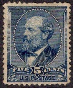US Stamp #216 USED SCV $17.50