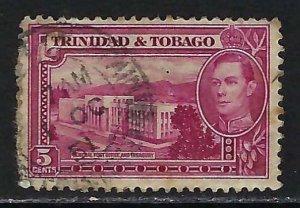 TRINIDAD &TOBAGO 54 VFU 654B-1