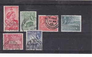 aden used  stamps  Ref 9287