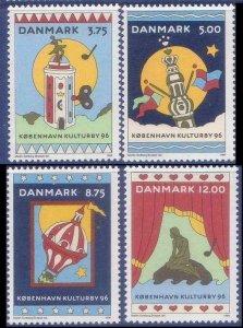1996 Denmark 1116-1119 Copenhagen City 8,50 €