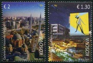 HERRICKSTAMP NEW ISSUES KOSOVO Sc.# 332-33 Ferizaj City