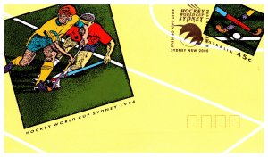 Australia, Postal Stationary, Sports, Worldwide First Day Cover