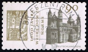 Germany #3045 Cathedral of Worms; Used (1.10)