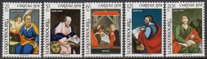 Luxembourg   B318-22 MNH - Paintings