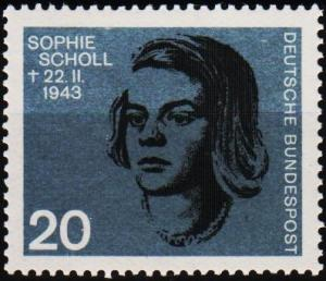 Germany. 1964 20pf S.G.1343a Unmounted Mint