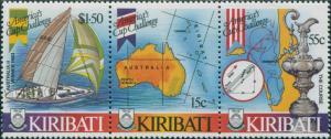 Kiribati 1986 SG265-267 America's Cup set MNH