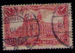 Germany Sc 92 Used Post Office In Berlin F-VF
