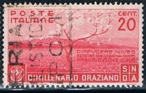 Italy 360, 20c Countryside in Sprint, used, VF