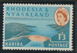 Rhodesia & Nyasaland SG 35 Sc# 175  MH see details Hydro Electric Scheme