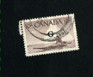 Canada #O39  1  used  1953-55 PD  .15