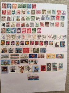 German 100+ stamps - Lot Z