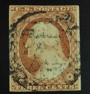 MOMEN: US STAMPS #10 USED LOT #54353