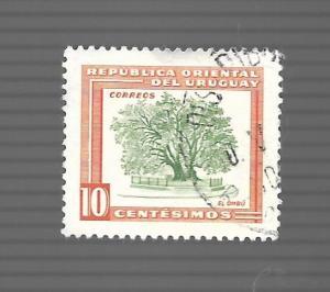 Uruguay 1954 - U - Scott #612
