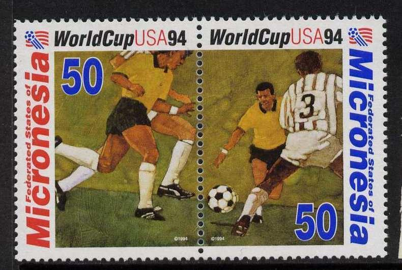 Micronesia 197a MNH Sports, Soccer, World Cup