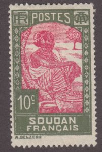 French Sudan 66 Sudanese woman 1931