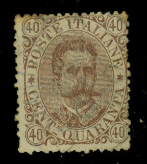 Italy #53 Used Ave-Fine Cat$20