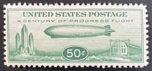 US #C18 MH F/VF - 50c Baby Zeppelin 1933 - Very Nice!!! [$061]