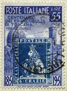 AlexStamps ITALY #569 XF Used