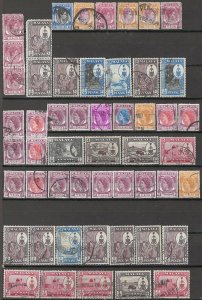 COLLECTION LOT OF #1808 MALAYA PENANG 52 STAMPS 1949+ CLEARANCE
