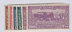 Egypt #108-113 Mint NH CV. $77.75  (JH 10/25) GP