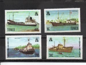 Tuvalu 77-80 MNH