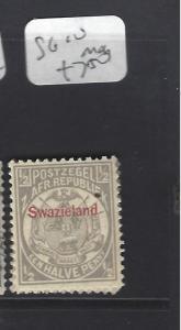 SWAZILAND  (P1510B)  SG  10  MOG