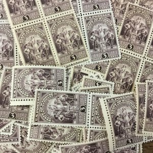 897   Wyoming Statehood. 100  MNH 3c  Singles, pairs & block.  Issued in 1940