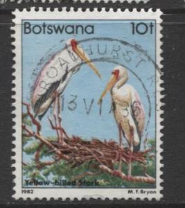 Botswana - Scott 311 - Birds Issue -1982 - VFU - Single 10t Stamp