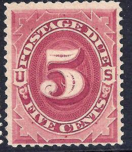 U.S. J18 Mint FVF SCV$600.00 (J18-5)