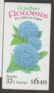 U.S. Scott #2997a BK231 Garden Flowers Stamp - Mint NH Booklet