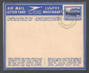 BECHUANALAND PROTECTORATE MINT AIR MAIL LETTER CAN PRECANCEL XF SOUND
