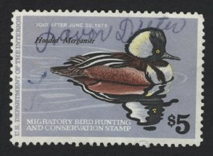 United States USED Scott Number  RW45  DUCK STAMP F-VF #3  - BARNEYS