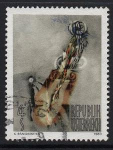 AUSTRIA SG1883 1980 MODERN ART FINE USED