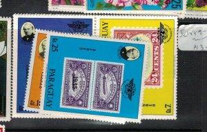 Paraguay SC 1889-91 MNH (7eek)