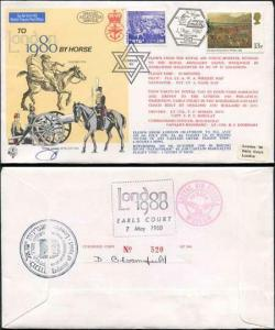 C65c To London by Horse Signed by Brigadier General Eitan Barak (J)