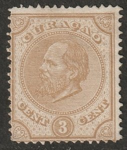 Netherlands Antilles 1876 Sc 2 MNG(*) tiny thins