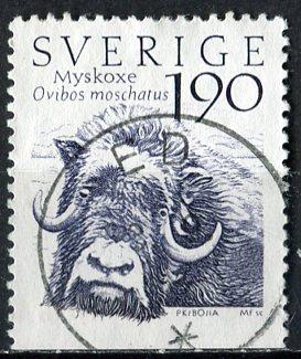 Sweden; 1984: Sc. # 1489: O/Used Single Stamp