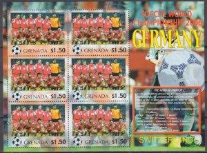 2006 Grenada 5731KL 2006 FIFA World Cup Germany( Switzerland ) 9,00 €