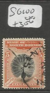 North Borneo SG 100 VFU (5cmp)