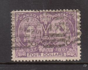 Canada #64 VF Used With Large Margins