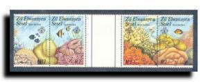 Seychelles-Zil Elwannyen Sesel Scott 121A-121B/121D-121E
