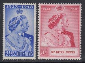 St. Kitts-Nevis, Sc 93-94 (SG 80-81), MNH