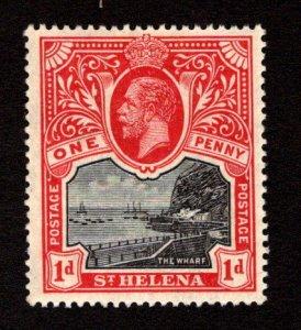 ST. HELENA  SC# 62  VF/MOG
